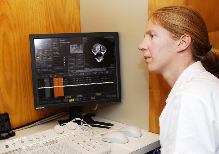 CT-scan op scherm